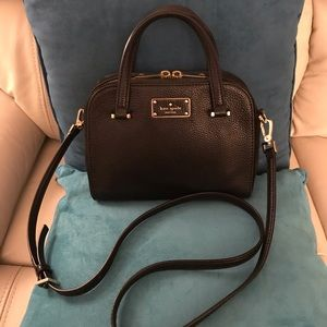Kate Spade Kay Street Small Satchel Black